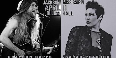 Grayson Capps + Sarah Peacock tickets