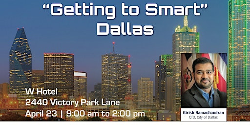 "Connected Cities Tour-""Getting to Smart"" Dallas"