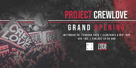 Project CrewLove I Hi Life Stuttgart Tickets