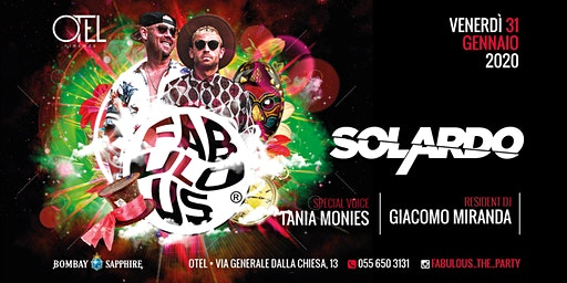 OMAGGIO DONNA / FABULOUS - The Party with SOLARDO