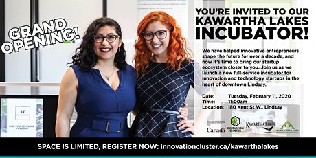 Kawartha Lakes Incubator Launch and Open House tickets