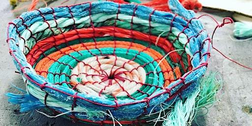 Creu Basged gyda Phlastig o'r Môr | Make a Basket with Sea Plastic