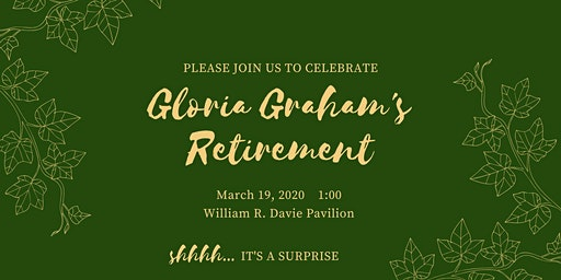 Gloria Graham's Retirement Party