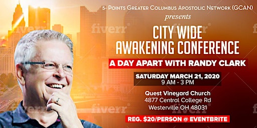 City-Wide Awakening Conference: A Day Apart with Randy Clark