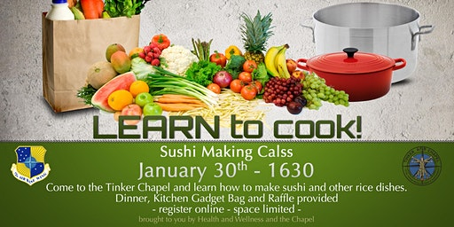 Dorm Resident Cooking Class - January - Sushi Making