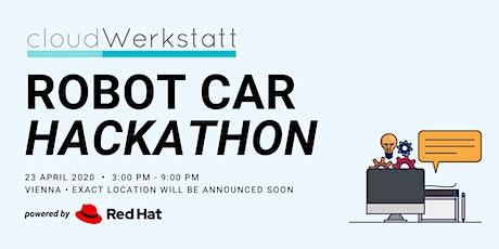 """cloudWerkstatt """"Robot Car"""" Hackathon tickets"""