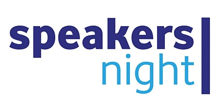 SpeakersNight - 25 maart 2020 tickets