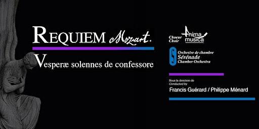 Choeur Anima Musica / Orchestre Sérénade - Mozart à Boucherville!