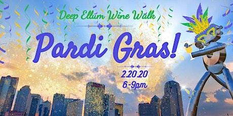 Deep Ellum Wine Walk: Pardi Gras! tickets