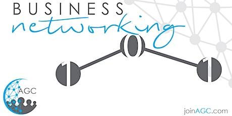 Business Networking 101 Class tickets