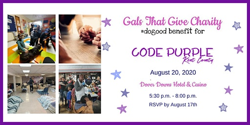 #dogood Benefit for Code Purple Kent County