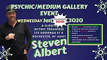 Reschedule: Steven Albert: Psychic Gallery Event - Mythic Treasures 1/30