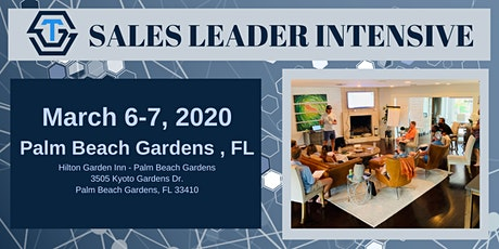 STG Sales Leader Intensive - March 2020 tickets