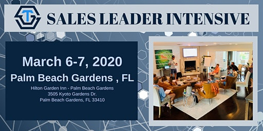 STG Sales Leader Intensive - March 2020