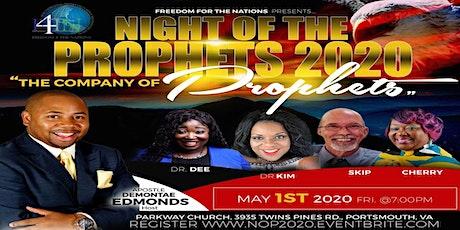Night of the Prophet 2020 tickets