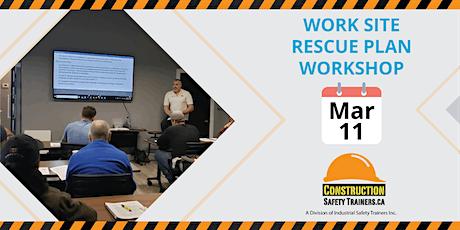 Work Site Rescue Plan Workshop tickets