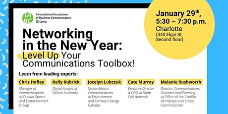 Networking in the New Year: Level Up Your Communications Toolbox tickets