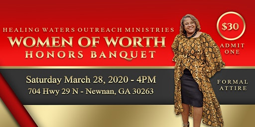 Women of Worth Honors Banquet