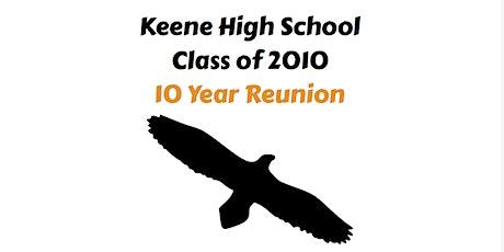 10 Year Reunion! Keene High School Class of 2010 tickets