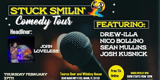 Comedy Night with Stuck Smilin' Tour at Taurus