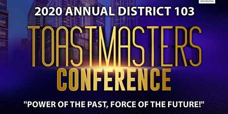 2020 District 103 Annual Conference tickets