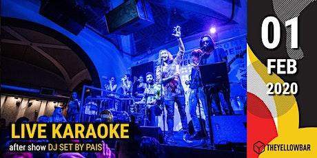 Live Karaoke - The Yellow Bar biglietti