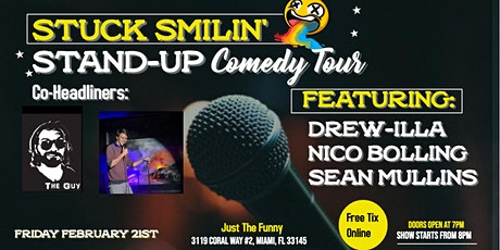 Comedy Night with Stuck Smilin' Tour at Just the Funny tickets