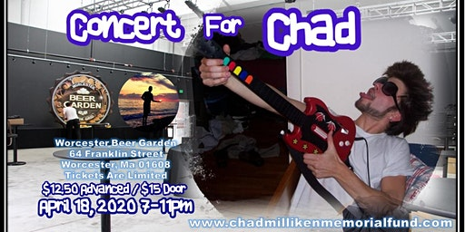 The Chad Milliken Memorial Fund Kickoff Event: Concert for Chad