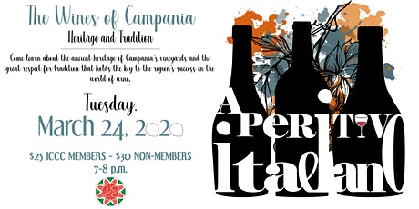 Aperitivo Italiano: The Wines of Campania tickets