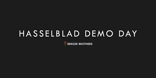Hasselblad Demo Day at Berger Brothers