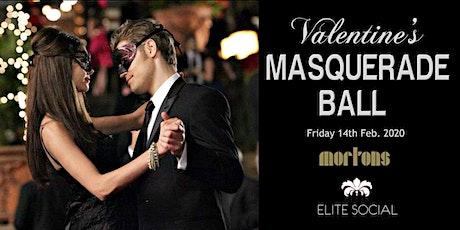 [ELITE SOCIAL] Valentine's Masquerade Ball @ MORTON'S Members Club tickets