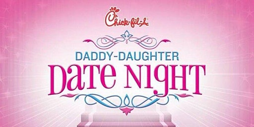 Daddy Daughter Date Night - Monday 6 pm Seating **JUST ADDED**