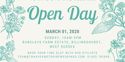 To Have & To Hire Open Day