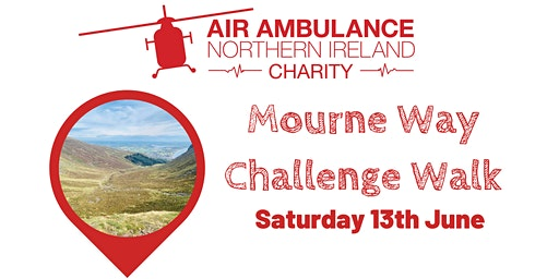 Mourne Way Challenge Walk in support of Air Ambulance NI