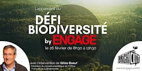 Conférence de lancement du Défi Biodiversité tickets