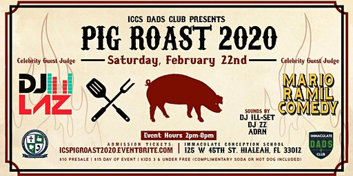 3rd Annual Dads Club Pig Roast