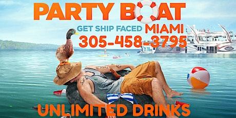 Miami Party Boat - Covid Free tickets