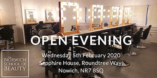 The Norwich School of Beauty Open Evening