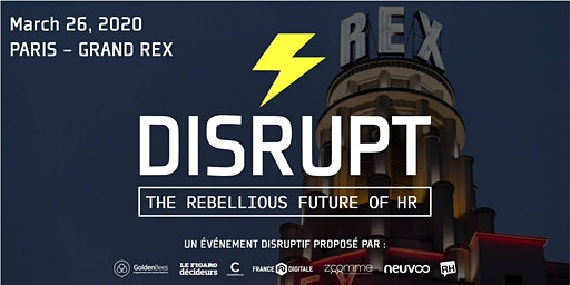 DISRUPT RH * PARIS 2020