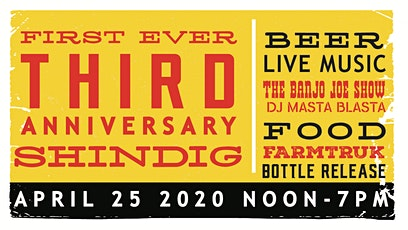 First Ever 3rd Anniversary Shindig tickets