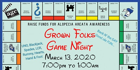 Back in the Day ~  Grown Folks Game Night tickets