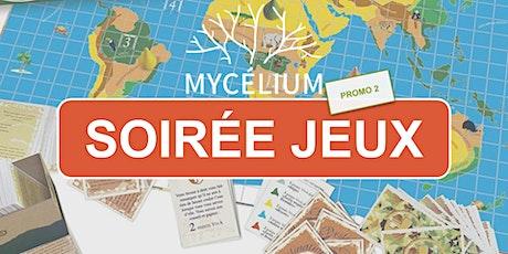 """Soirée Jeux Mycélium : Découverte des  new Fresques """"Agri'Alim"""" ET  """"Forêt"""" tickets"""
