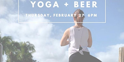 Happy Hour Yoga at Craft Beer Cellar FTL