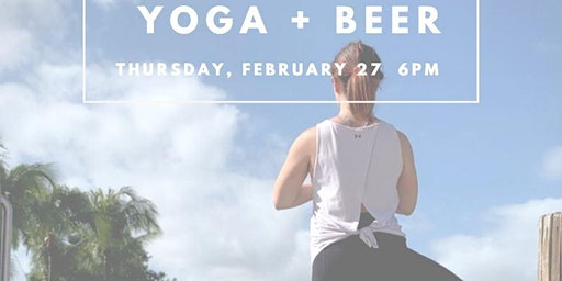 Happy Hour Yoga at Craft Beer Cellar FTL
