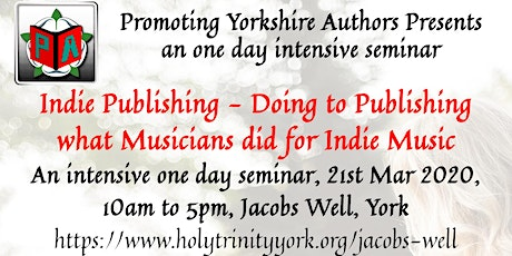 Indie publishing - Doing to publishing what musicians did for indie music tickets
