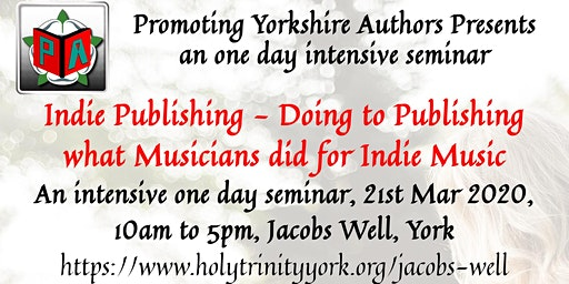 Indie publishing - Doing to publishing what musicians did for indie music