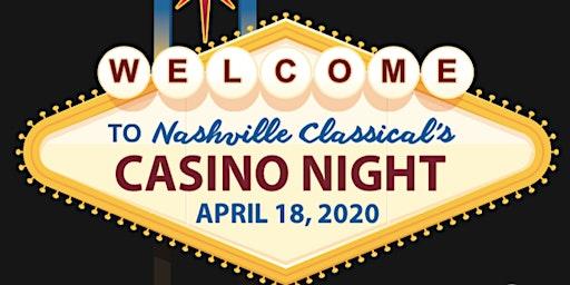 Nashville Classical's Casino Night