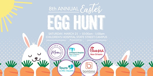 2020 New Orleans Mom 8th Annual Easter Egg Hunt