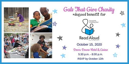 #dogood Benefit for Read Aloud Delaware