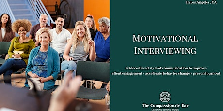 Motivational Interviewing Introductory Training tickets